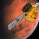 عاجل: وصول مسبار الأمل الاماراتي الى مدار المريخ